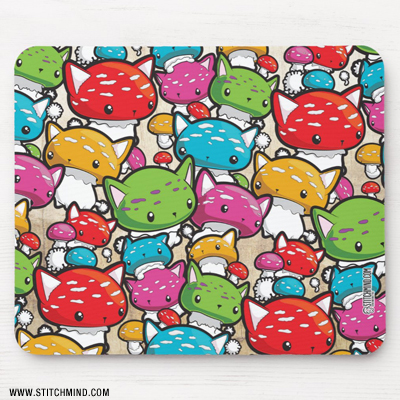 mousepad_mewshroomswarm1